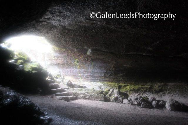 Valentine's Cave, Lava Tubes National Monument, Ca.