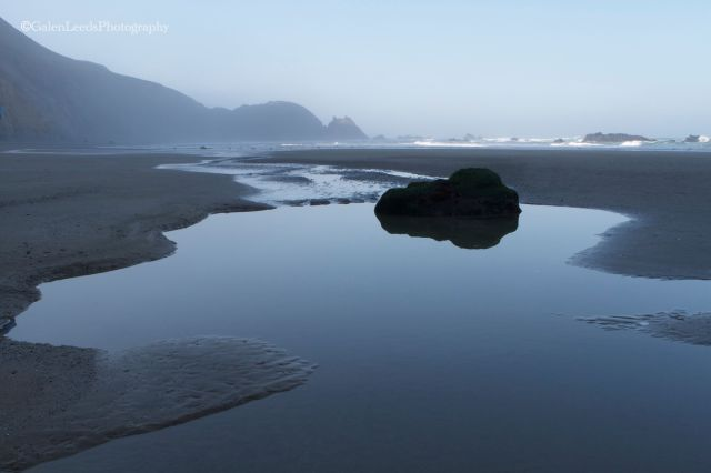Low tide in the Point Reyes National Seashore, California